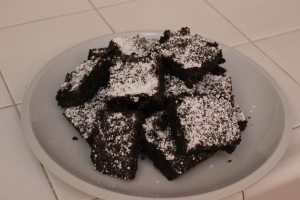 Nutella Chocolate Chip Brownies | longdistancebaking.com
