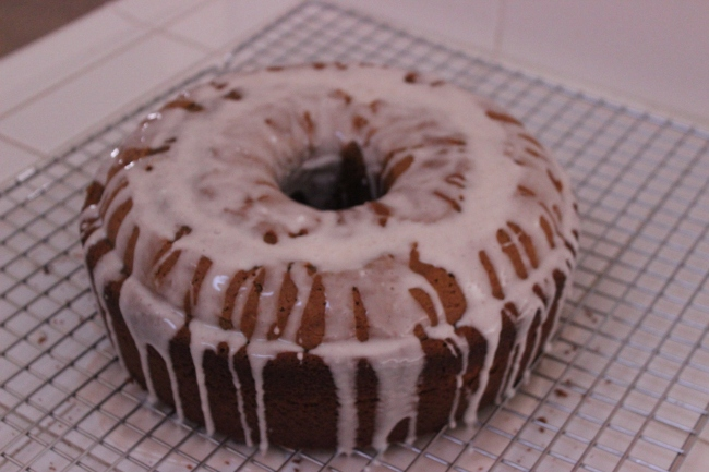 Pumpkin Spice Cake   longdistancebaking.com