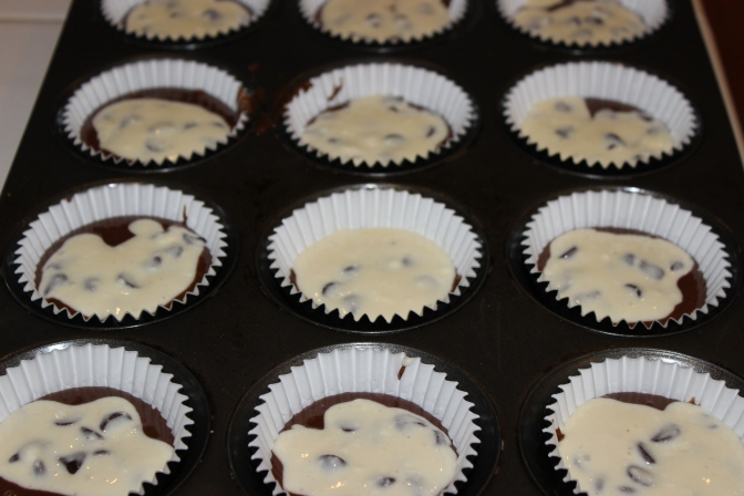 Black Bottom Cupcakes | longdistancebaking.com