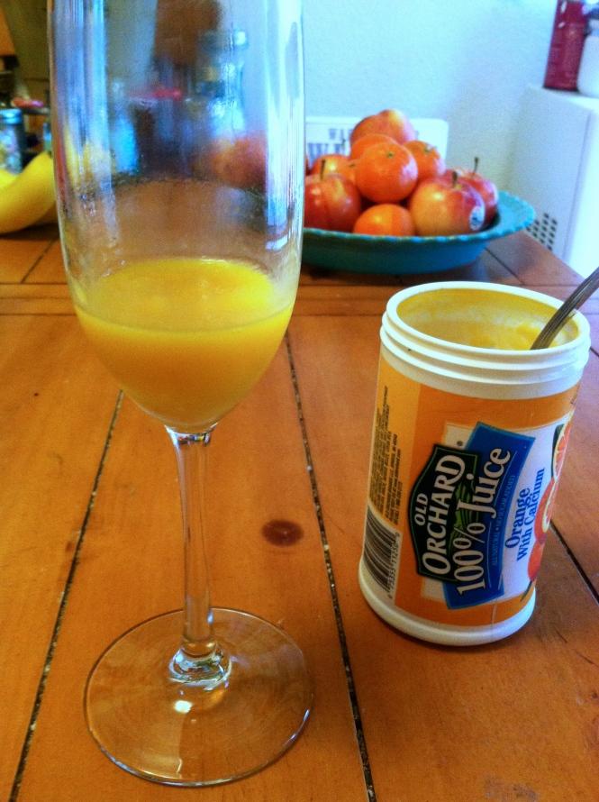 Peach Mimosa | longdistancebaking.com