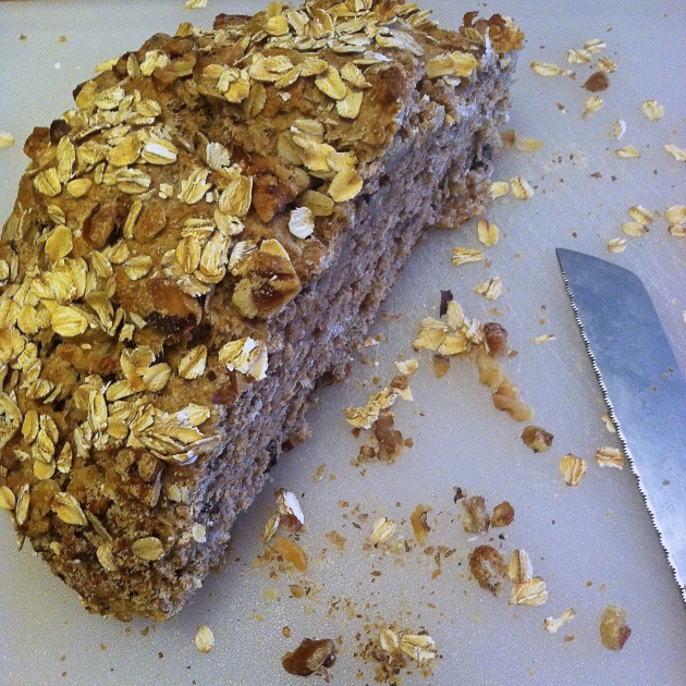 Whole Grain Walnut Quick Bread | longdistancebaking.com