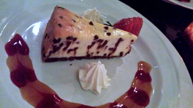 Chocolate Chip Cheesecake from The Martini Bar